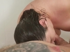 BBW shower and water temperature torture