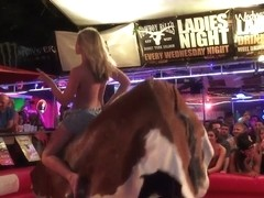 Spring Break Naked Bull Riding