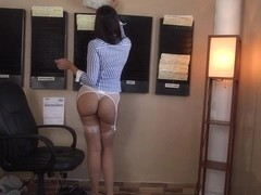Mercedes Carrera in Our secretary has a big ass! Video