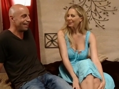 Chesty blonde teacher Julia Ann fucking