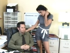 Persia Pele & Tommy Pistol in Naughty Office