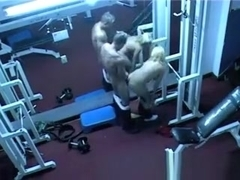 Latin Babe Gets Fucked by Gym Trainer