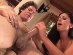 Luscious Lopez face hole and wazoo fucked