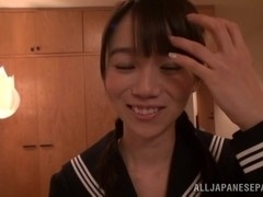 Young Asuka Hoshino enjoys hard sex with boyfriend
