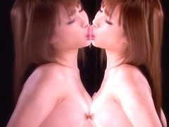 Amazing small titted oriental Anna Anjou