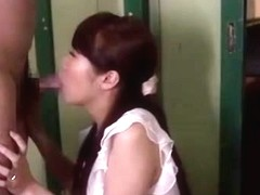Best Japanese girl Hitomi Oki in Amazing Amateur, Blowjob JAV clip