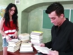 Madelyn Monroe & Billy Glide in Naughty Book Worms