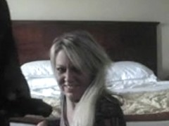 Blond milf meets BBC in Hotel