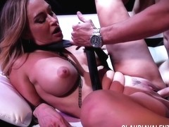 Claudia Valentine - Anal Fucked At Strip Club