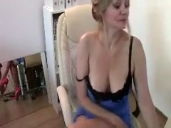 Candy Manson Busty Milf Get A Hard Boobs Rubbing Part 01