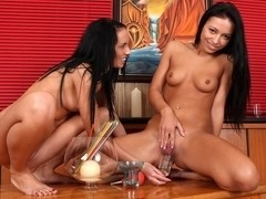 Bailey and Gina Devine in HD Pissing Video Gina and Bailey