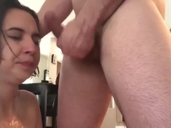 Finnish Amateur Teen Face Fuck Gagging and Spit