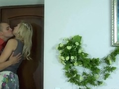 PantyhoseLine Clip: Flossie and Nicholas