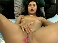 ninasquirts masturbated before camera