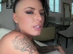 Christy Mack sliding on a cock so well