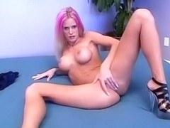 Horny pornstars Victoria Sin, Dani Woodward and Amy Lee in hottest porn video
