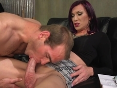 Jonah Marx & River Stark in Ts Film Directors Works Her Actors With Her Giant Hard Cock - TSSeduct.