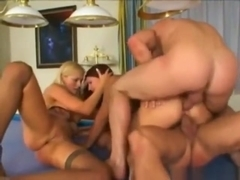 Claudia Rossi & Sandra Russo in a HOT Foursome...