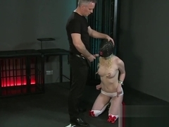 BDSM XXX Beautiful Slave girls are Shackled