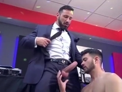 Big dick dilf anal sex with cumshot