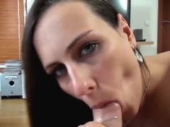 Mea Melone Homemade Sensitive blowjob