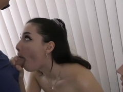 GF's barely legal friends give me double BJ and swallow for my birthday
