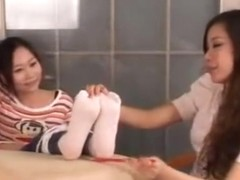 china beautiful girl feet tickle