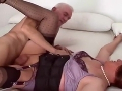 Incredible Amateur Shemale clip with Mature, Stockings scenes