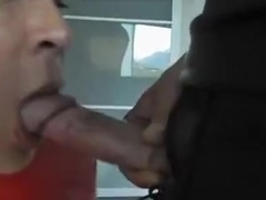 Crazy Homemade Shemale clip with Blonde, Blowjob scenes