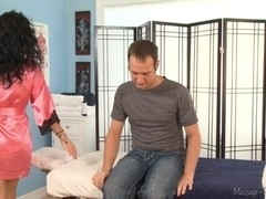 Massage-Parlor: He's Not Gay !