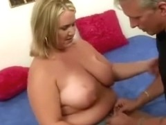 Hank Armstrong with blonde BBW