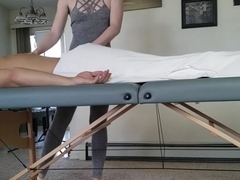 Happy Ending Massage w CUM SWALLOW