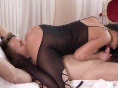 Coco De Mal is a smashing, voluptuous brunette, who likes to fuck her married neighbor