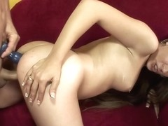 Jamie Elle and a guy with a huge dick are about to fuck like wild animals