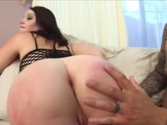 Crazy pornstar Marie Luv in fabulous blowjob, small tits adult clip