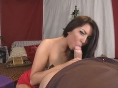 Young Denis Marti gets his dick checked by experienced Alexa Jaymes during the audition