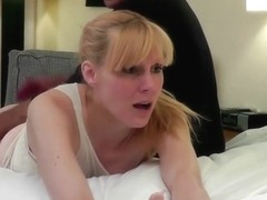 Amelia takes a long and strict spanking session