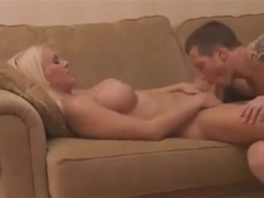 hot guy drills busty sexy blonde tranny