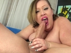 Bbw Uses Her Big Tits And Fat Belly To Please A Guy