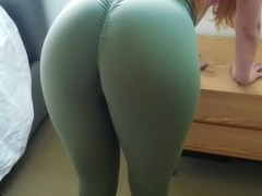 Make Him Cum In My Panties And Yoga Pants After Workout