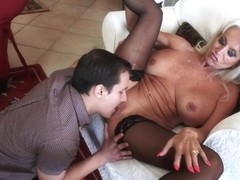 Sexy Mature Sally Dangelo Rides His Big Dick And Takes It From Behind
