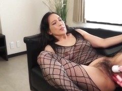 Keiko Hattori The Perfect Milf Inviting With Full Length Netting Tights