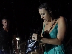 Nasty brunette Chanel Preston gets licked by Bill Bailey