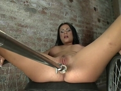 Fabulous fetish, blowjob adult movie with hottest pornstar Ashli Ames from Fuckingmachines