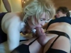 Best amateur shemale movie with Fetish, Threesome scenes