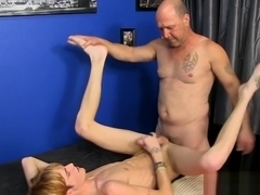 Hot gay doggystyle with cumshot