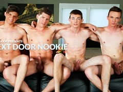 Tyson Stone & Adrian Rivers & Jessie Kale & Dakota Wolfe in Next Door Nookie XXX Video