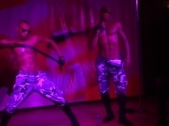Bella Margo  in hot slag gives an amateur blow job in a toilet