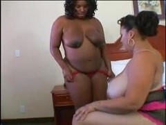 Bonnie Blaze (Black BBW) & Monet Staxxx (Black BBW)