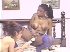 Aja, Cheri Taylor, Ebony Ayes in classic fuck video